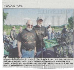 Wellsville Riders Photo